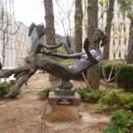 פסל גן בהדסה עין כרם