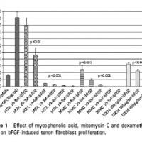 תמונה מהמאמר על ההשפעה נוגדת צלקת של מיקופנולאט על תאי משטח העין.